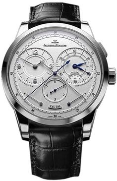 'Duometre A Chronographe' by Jaeger LeCoultre #watch