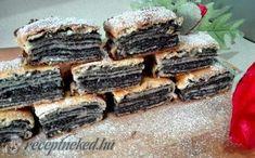 Recept: A bejgli mellé még vállaljunk be egy ilyet! Hungarian Desserts, Hungarian Recipes, Sweet Pastries, Bread And Pastries, Good Food, Yummy Food, Cookie Desserts, Desert Recipes, Food Hacks