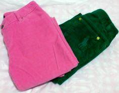 RALPH LAUREN GIRLS CORDUROY PANTS..SIZE 14