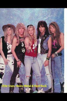 Big Hair Bands, Hair Metal Bands, Heavy Rock, Heavy Metal, Rock N Roll Music, Rock And Roll, 80s Hair Metal, 80s Rock Bands, Glam Metal