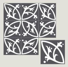 Villa Lagoon Cement Tiles eclectic kitchen tile