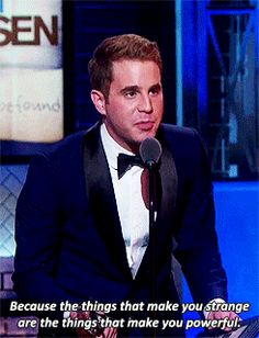 This is seriously beautiful. I love Ben Platt.