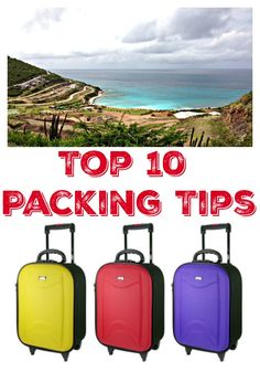 Have you planned your summer vacation? Don't miss my bonus packing tip in addition to the top 10! It's the best one of all!