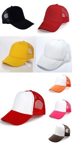 ROPALIA Cotton Sun Visor Hats Woman Man Tennis Baseball Caps Candy ... 2435b68dd01b