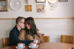 Wedding Philippines - Coffee Shop Cafe Engagement Photo Shoot Session Inspiration (11)