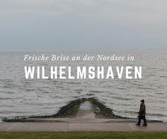 Frische Brise an der Nordsee in Wilhelmshaven