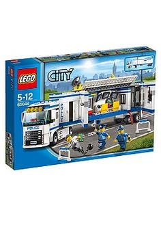 Kodin1 - LEGO 60044 Liikkuva poliisiyksikkö | Rakentelulelut ja harrastesarjat Lego City, Games, Kids, Young Children, Boys, Gaming, Children, Plays, Boy Babies