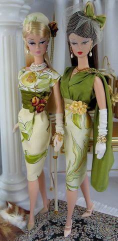 Beautés d` olive for Silkstone Barbie and similar size dolls on Etsy now