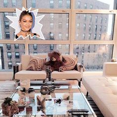 Gigi Hadid - The Coolest Celebrity Living Rooms - Photos