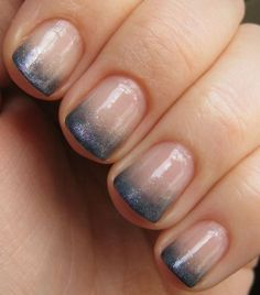 How to make a french manicure with short nails
