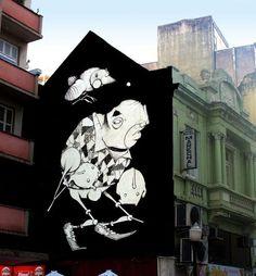 Tag Street Art, Powerful Pictures, Graffiti Characters, Quites, Street Artists, Types Of Art, Public Art, Urban Art, Ecuador