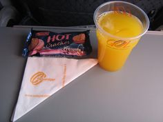 GOL Airlines inflight snack