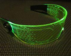 The original Illuminated Cyberpunk Cyber goth visor WARCHIEF Green - bigoltrucks New Technology Gadgets, Technology World, Futuristic Technology, Tech Gadgets, Technology Design, Medical Technology, Energy Technology, Technology Innovations, Futuristic City