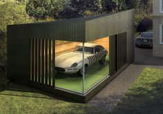 As architects, we appreciate great design in all its forms    That's why we created AutoSpace™ – a building that takes the concept of the garage, and transforms it into a showroom.    Ambient lighting, floor-to-ceiling glazing or even modular storage systems, you can tailor it, just like your car.