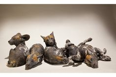 Safarious - More Clay Animal Sculptures by Nick Mackman / Clay Knight / Old Gallery
