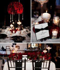 Black and Red wedding ideas - Wedding Newsday