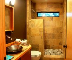 Choices for Designing Small Bathrooms:Designing Small Bathrooms - Traditional Design