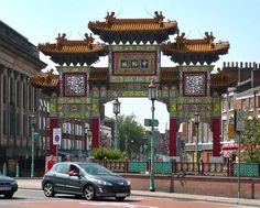 Liverpool (Chinatown), UK.
