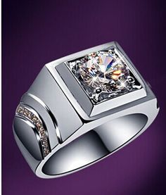 Energetic Stylish Sterling Silver Ring Solid 925 With 4.5mm Round Cz New Size G-t Empress Gemstone