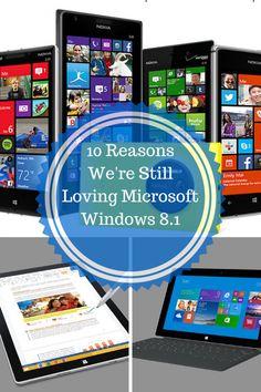 10 Reasons Were Still Loving Microsoft Windows 8.1 #VZWBuzz