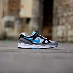 huge selection of 74e37 4c9d9 Nike Air Span II black-laser-blue