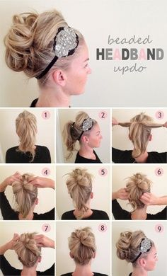 Headed HeadBand UpDo