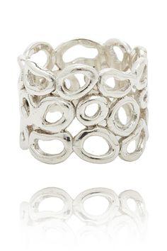Cool handmade silver ring