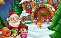 We are an elite squad of creative illustrators and designers with high integrity children illustration children book illustration illustration , arailand, Christmas cartoon Santa Claus
