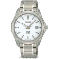 Men's Seiko Titanium Solar Powered Watch