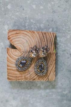 Τα σκουλαρίκια της νύφης - πιο ρουστίκ δε γίνεται! www.lovetale.gr