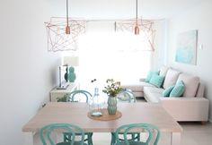8 salones pequeños inspiradores - #decoracion #homedecor #muebles