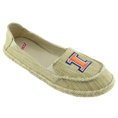 NCAA ILLINOIS FIGHTING ILLINI Women's Sparkle Cabo Slip-on