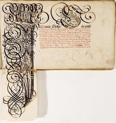 'Kalligraphische Schriftvorlagen' (calligraphic writing styles) was produced in the 1620s in Germany by the scribe, Johann Hering.