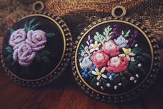 #hearts #love #rose#刺繡#手仕事のある暮らし#embroidery #花 #お花の刺繍 #needlework  #handmadeau