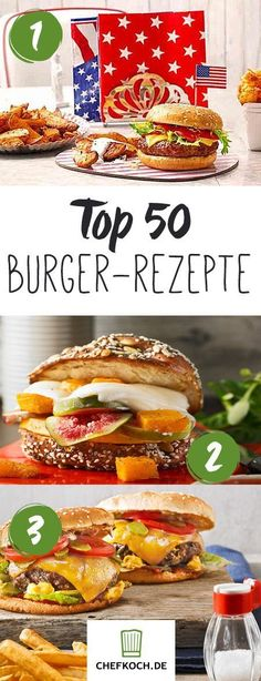 Top 50 burger recipes & ideas for spicy sauces Chefkoch.de - Top 50 burgers: delicious recipes for great burger fun - Burgers Pizza, Burger Co, Burger On Grill, Bbq Grill, Burger Party, Barbecue Sauce Recipes, Grilling Recipes, Good Food, Yummy Food