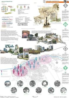 small map at the centre containing gates , then zoom in into the gates put their picture /or and zoom that area and put ped ' ex bh red man and blue nin bh men so yu can visually compare Site Analysis Architecture, Architecture Panel, Architecture Visualization, Architecture Portfolio, Concept Architecture, Architecture Diagrams, Presentation Board Design, Architecture Presentation Board, Project Presentation