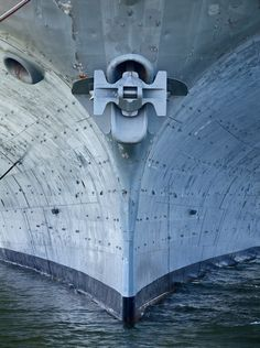 """nicholassabalos: """"The face of history….The bow of historic United States Navy aircraft carrier USS Hornet (CV still looks imposing and strong decades after her retirement from active duty. Uss Hornet Cv 12, Vintage Travel, Fighter Jets, Nautical, Aviation, Aircraft, Military, Ship, History"""