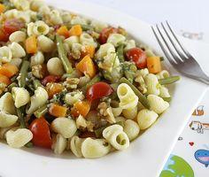 Amanida de pasta i verdures #thermomix
