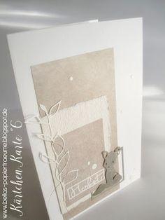 {Bellas} Papierträume: Kärtchen - Karte °6