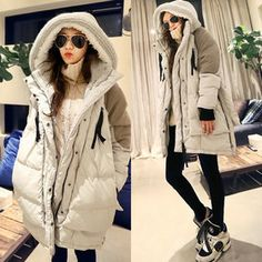 Gmarket - [Naning9] 2 tone duck down jackets / loose fit / high ...