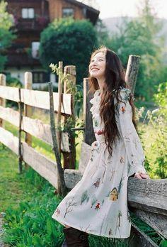 Quirky Fashion, Kawaii Fashion, Cute Fashion, Fashion Outfits, Japanese Fashion, Korean Fashion, Mori Girl Fashion, Forest Girl, Romantic Outfit