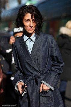 #YasminSewell at Paris fashion week #PFW #streetstyle