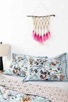 Plum & Bow Floral Scroll Sham - Set Of 2 - Urban Outfitters
