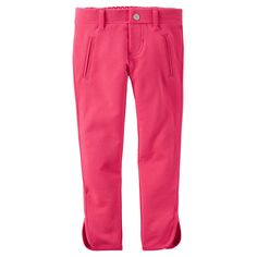 Calça legging pink bebê menina Carter's