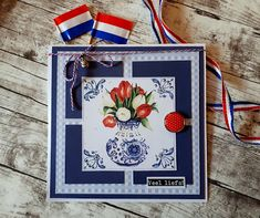 Marianne Design, Windmill, Holland, Van, Frame, Dutch, Cards, Decor, The Nederlands
