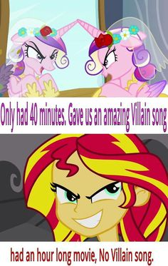 Which makes sense, since the actress who plays Shimmer sings for Twilight