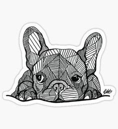 French Bulldog Puppy Sticker