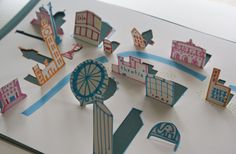 Cool pop up map idea for kids - wstminster pop up
