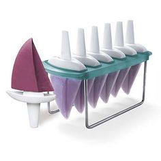 Adorable little sail boat popsicle molds!