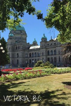 Check out the best spots in Victoria. A great day trip from Seattle or Vancouver. Beautiful town with plenty to see, even if you only have a short time. Travel / Canada / Bucket List